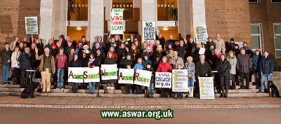 ASWAR at Rugby Town Hall