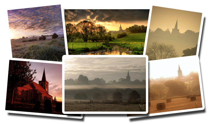 Montage of pictures of Churchover